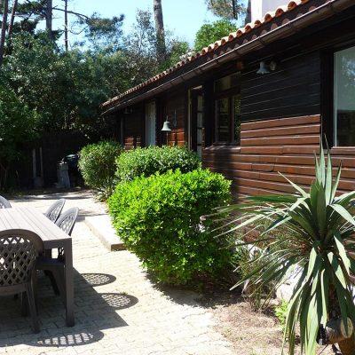 Le Chalet Villa Caroline au Cap Ferret - vue terrasse