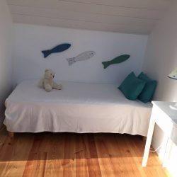 Chambre lit simple Villa Bancot à Arcachon