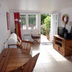 Intérieur du bungalow Villa Caroline Cap Ferret