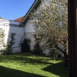Enclosed garden of 45 m² of the Annexe - Villa Caroline Arcachon (France)