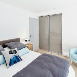 La chambre bleue de Villa Garance - Villa Caroline à Arcachon