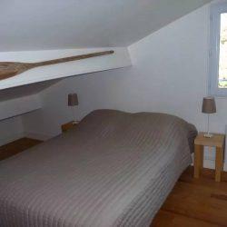 Chambre à l'étage de la Villa Basque - Villa Caroline au Cap Ferret