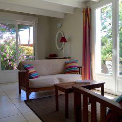 Salon de la Villa Basque, Villa Caroline au Cap Ferret