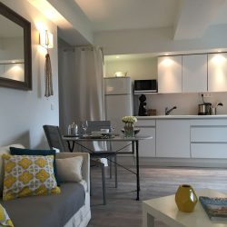 Kitchen and stay of the Annexe - Villa Caroline Arcachon (France)