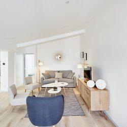 Le salon moderne et confortable de Villa Garance - Villa Caroline à Arcachon